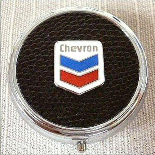 Chevron Oil Company Pill Box