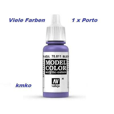 Vallejo 046 70.0811 Purpurviolett Blue Violet 17ml 15,29 €/100ml