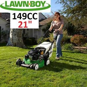 NEW* LAWN BOY 21 LAWN MOWER 17734 252257318 149CC ELECTRIC START SELF-PROPELLED GAS KOHLER