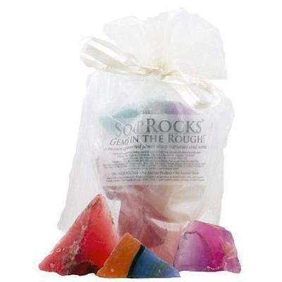"T.S. PINK SOAP ROCKS ""GEMS IN THE ROUGH"" Organza Gift Bag - Assorted Scents"