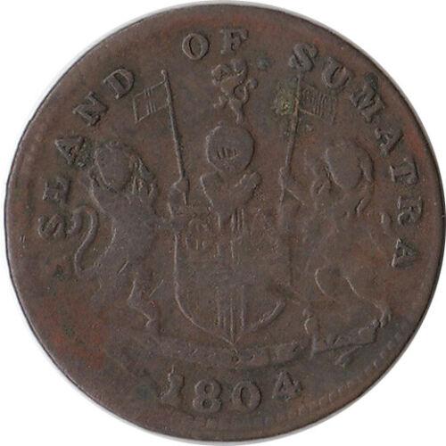 1804 (AH1247) Netherlands East Indies - Sumatra 1 Keping Coin KM#Tn3