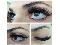 Eyelash extension & brow specialist! individual/volume lashes HD brows microblading,brow extensions