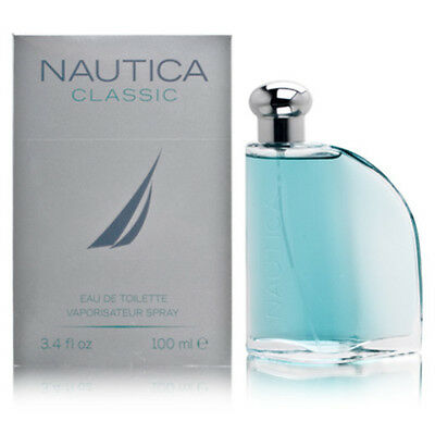 NAUTICA CLASSIC 3.3 / 3.4 oz 100 ml SPRAY MEN toilette edt COLOGNE PERFUME NIB
