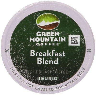 Green Mountain Breakfast Blend Coffee K-Cups 96 count for Keurig 2.0 - Green Breakfast Cup