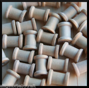 10-Darice-Wooden-Spools-ABCraft-1-2-x-1-2-Crafts-Projects-100-Natural-Pine