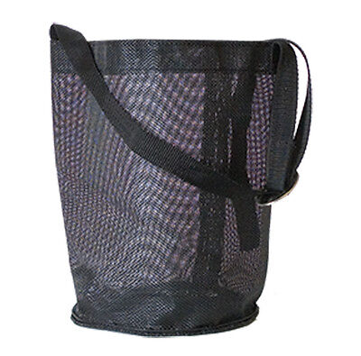 horse feed bag hay grain equine new black mesh tack travel trailer