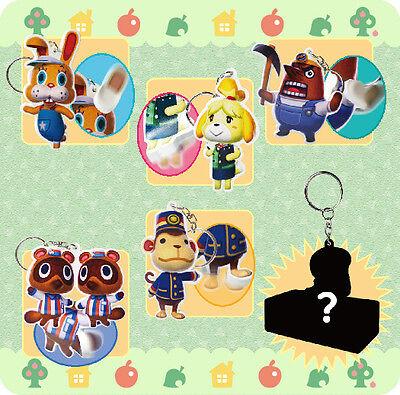 Animal Crossing Bendable Keychain (Japan Import)
