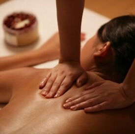 Relaxing massage by Indian therapist