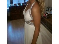 White formal/ball dress