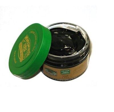 Moneysworth & Best Leather Boot & Shoe Cream Polish Black - 50 ml (1.7 oz