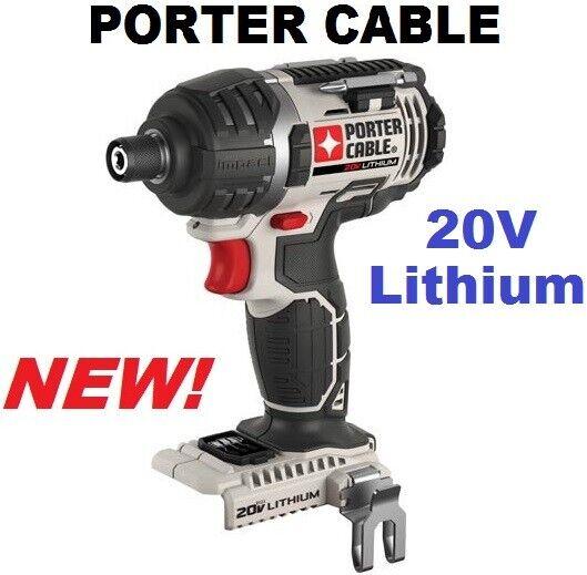 PORTER-CABLE PCC640B 20V Max Impact Driver Bare Tool