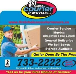 Courier /Moving services