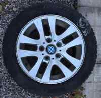 4 BMW winter tires with rims