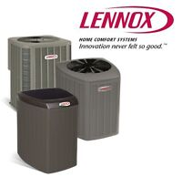 LENNOX A/C'S ON SALE FROM $1900!!! FINANCING AVAILABLE