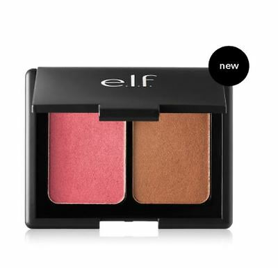 Elf Aqua Beauty Blush   Bronzer Duo In Bronzed Pink Beige