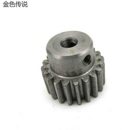 5MM/6MM/8MM/10MM Hole Metal M1 Modulus Large Torque Gears Drive Rack DIY Model