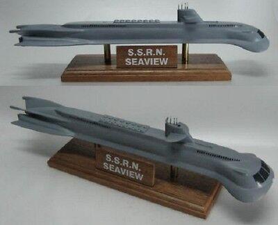 Seaview Submarine Wood Model