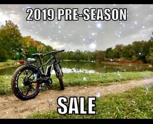 2019 Pre-Season SALE! Fat Tire Ebike! NEW With Warranty!