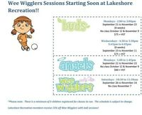 Wee Wigglers - Musical Fitness Classes in Port Elgin