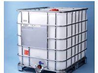 Thousand litre IBC factory emulsion 40 p a litre £400silk or mat /masonry paint premium brand