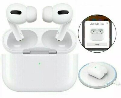 WIRELESS AIRPODS PRO. BLUETOOTH EARPHONES. COMPATIBLE WITH APPLE AND SAMSUNG. UK