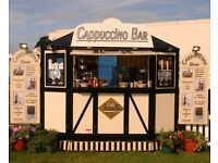 10ft coffee trailer £5000