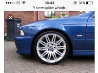 Bmw spider alloys wanted 172 anyone have a set original or copies 19 inch no scammers