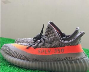 The new authentic adidas Yeezy 350 V2 sply Beluga gray orange