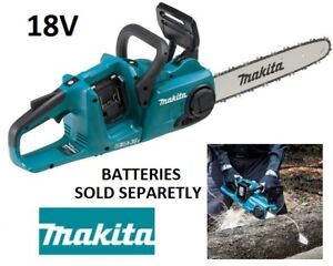 """NEW MAKITA 14"""" 18VX2 LXT CORDLESS CHAINSAW (TOOL ONLY)"""