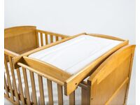 Wooden baby changer top for sale
