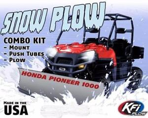 KFI Snowplows - ATV and SXS - Call for best installed - Tayside Motorsports 613-466-0572