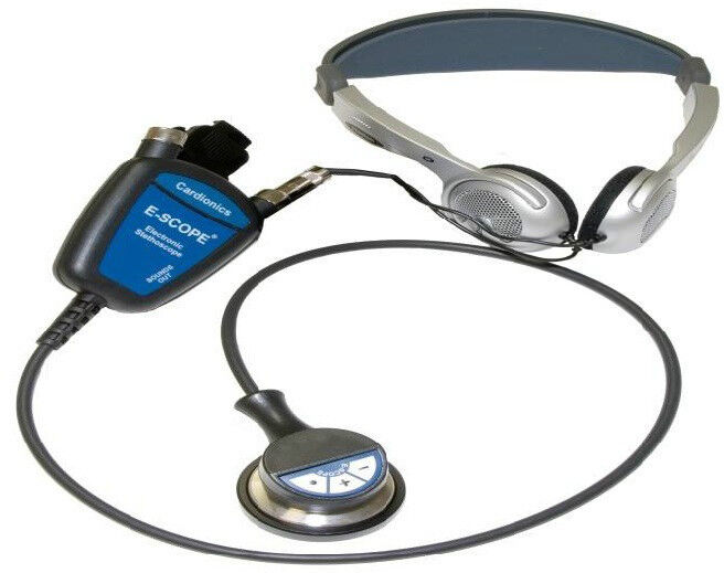 Cardionics E-Scope II Electronic Headset Stethoscope