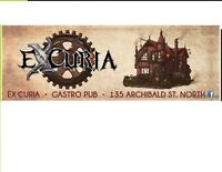 Excuria is seeking a Full-Time evening Supervisor