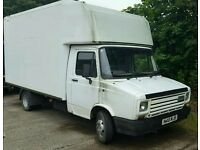 Layland DAF Catering van project unfinished