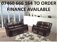 8080771 Lucie 3 and 2 seater reclining sofa 545