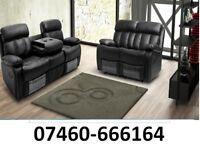 Beautiful New 3 and 2 seater sofa Reclining sofa 243 -9434381