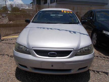 2005 Ford Falcon SR BA MKII Sedan Hermit Park Townsville City Preview