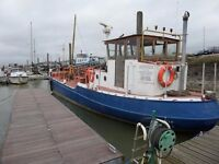 Oil Barge for Conversion - Shelley