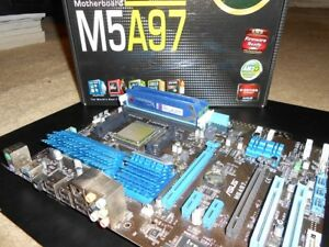 AMD FX 6300 CPU + Asus M5A97 Motherboard + 8GB DDR3 Memory
