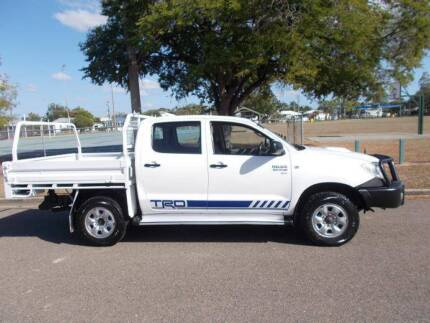 2010 Toyota Hilux SR Dual Cab Utility Hermit Park Townsville City Preview