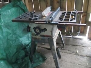 """10"""" CRAFTSMAN TABLE SAW AND RADIAL ARM SAW"""