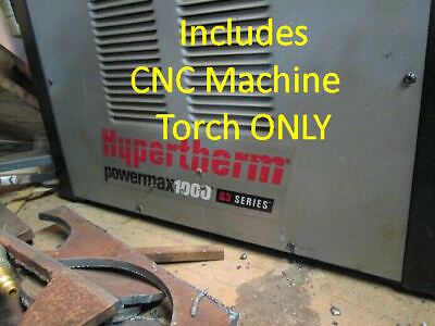 Cnc Plasma Machine Torch Fits Hypertherm Powermax1000 1250 1650 Replaces Duramax