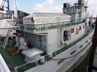 Converted US Army Tug - Jorja