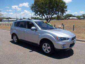 2012 Mitsubishi Outlander Platinum 2WD Wagon Hermit Park Townsville City Preview