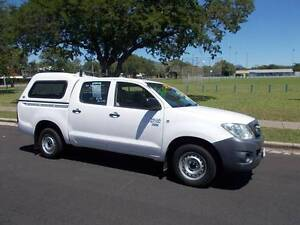 2009 Toyota Hilux Workmate Dual Cab Utility Hermit Park Townsville City Preview