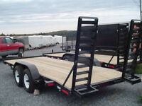 The Best Prices on Equipment & Car Haulers!