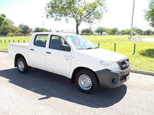 2008 Toyota Hilux Workmate Dual Cab Ute Hermit Park Townsville City Preview