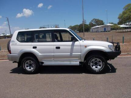 2002 Toyota LandCruiser Prado GXL Wagon Hermit Park Townsville City Preview