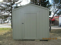 Storage and Garden Sheds Built on Site