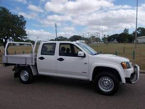 2008 Holden Colorado LX Crew Cab Utility Hermit Park Townsville City Preview